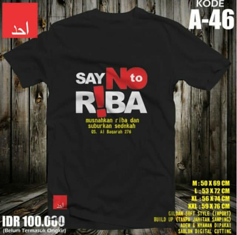 Katakan Tidak Pada Riba