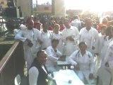 Equipe de voluntários no Céu Jd. Paraná, obrigada ao Colégio 24 de Março