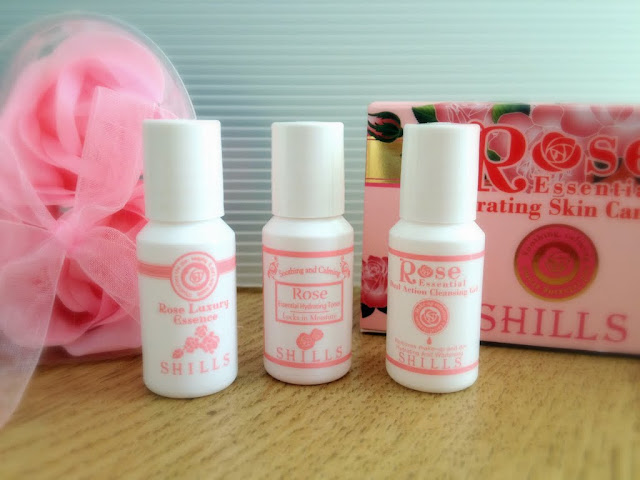 Rose Luxury Essence samples