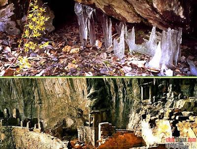 反季節冰洞