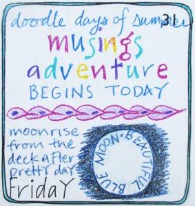 Doodle Days of Summer Musings Adventure