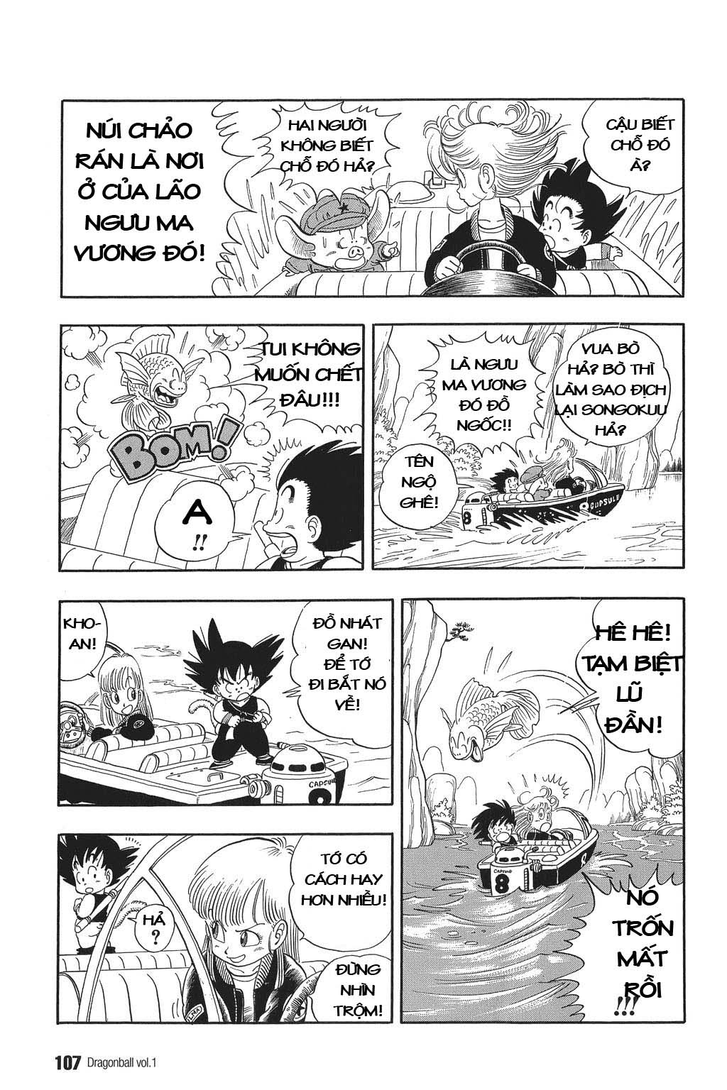 xem truyen moi - Dragon Ball Bản Vip - Bản Đẹp Nguyên Gốc Chap 7