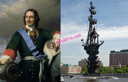 Peter The Great dan patung megahnya