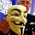 Operación elaborada por la Policia, en redada atrapan al lider y cabecilla de #Anonymous