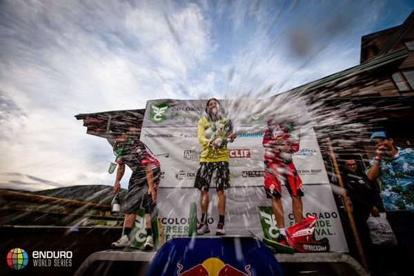 2014 Enduro World Series: Colorado, USA - Womens Podium