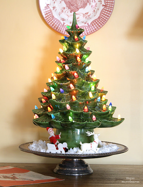 Vintage Christmas Shiny Brite decorations for your holiday home decor