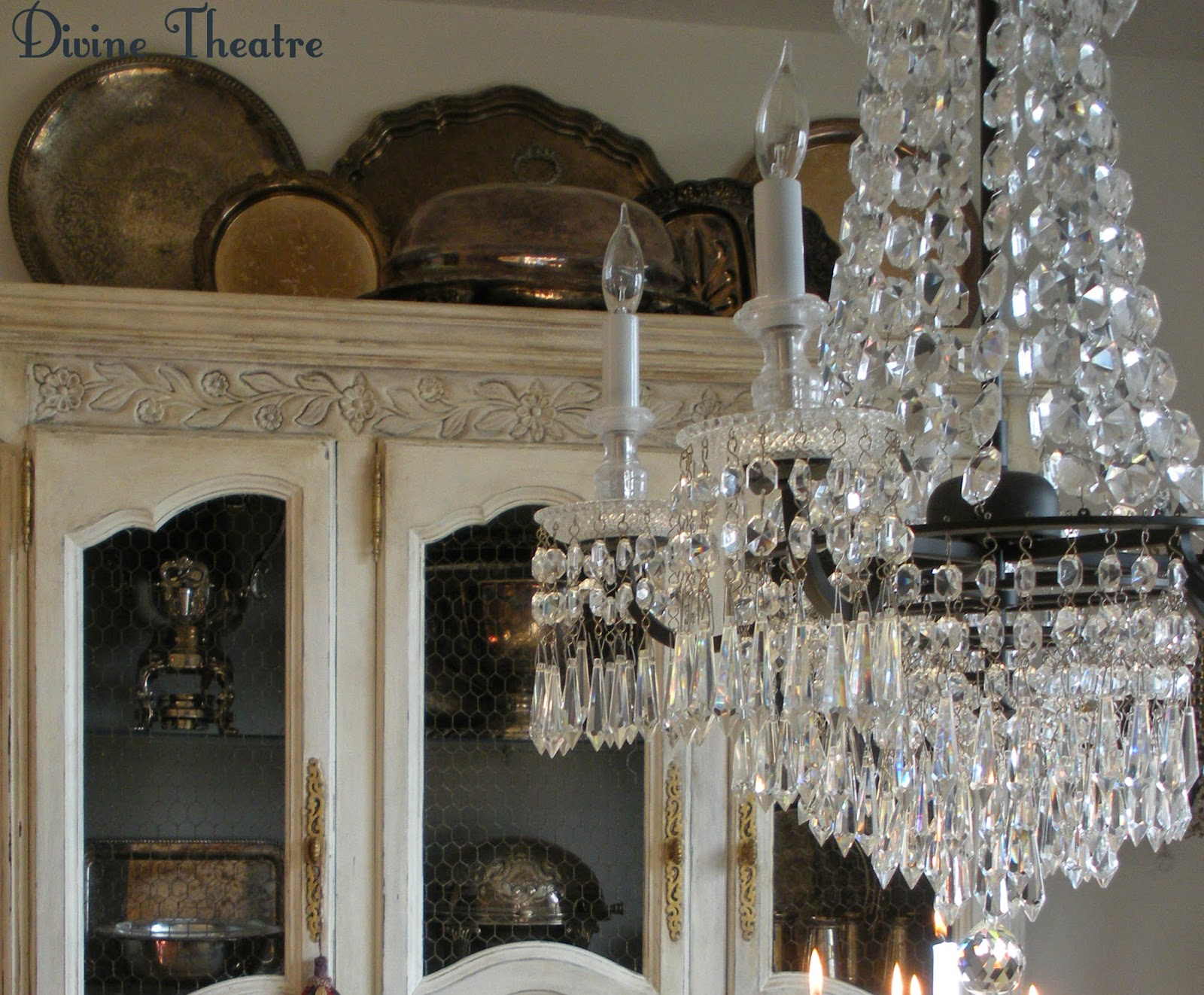 Candle Chandelier for Theater