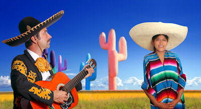 Un clásico charro o mariachi mexicano - Miradas de México - 16 de Septiembre - Día de la Independencia