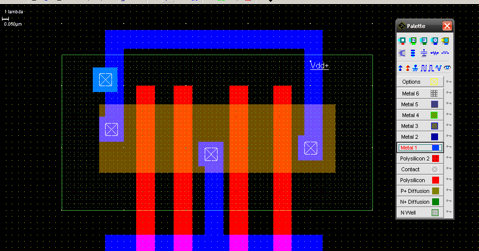 CMOS 2 input XOR gate | All For Students