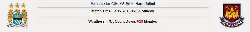Soi kèo cá độ Manchester City vs West Ham