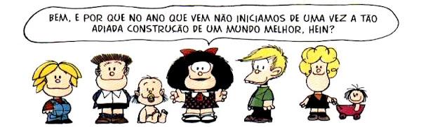 Mafalda - ano novo