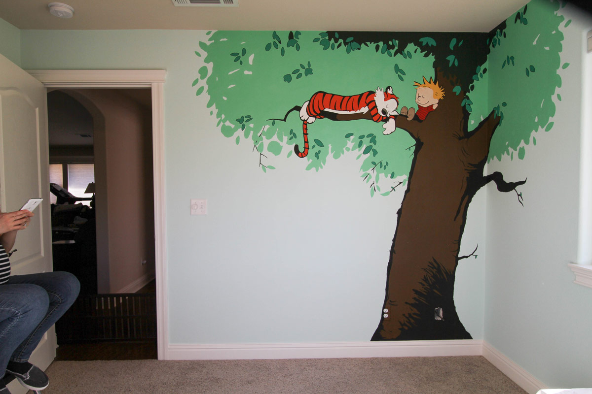 Calvin And Hobbes Wall Mural palestencom