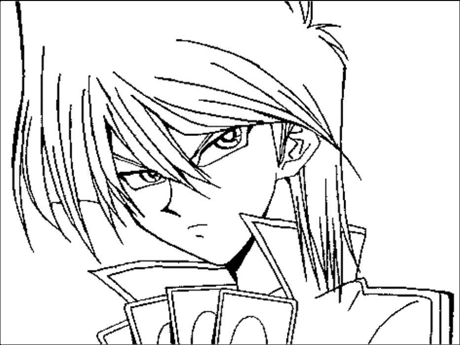 Ba da web desenhos de anime para colorir for Tipos de manga japones