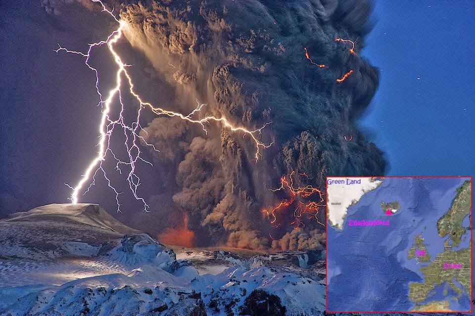 Letusan Gunung Eyjafjallajökull