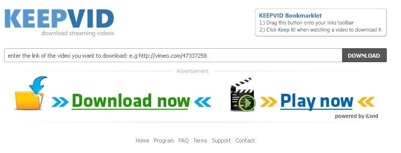 Keepvid supprimer les virus de keepvid depuis votre for Supprimer les vers