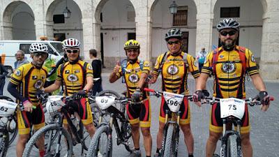 Club MTB Aranjuez en Yepes