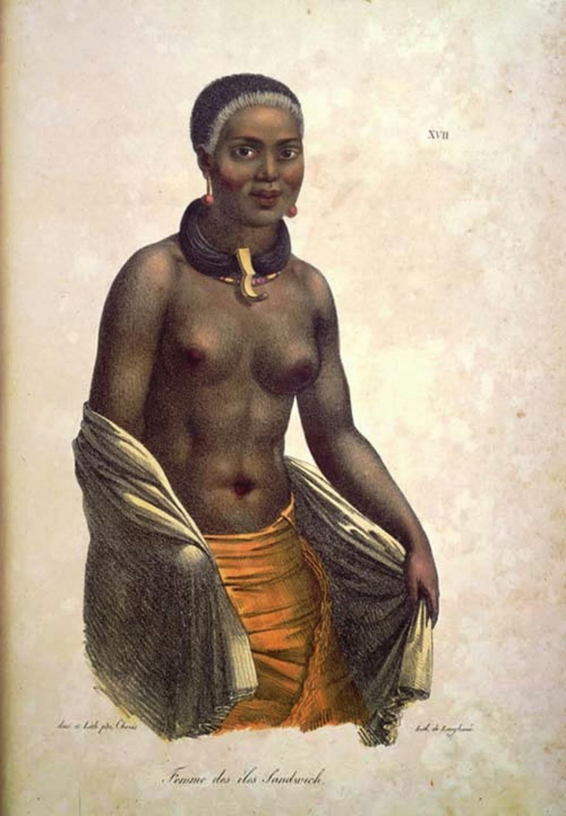 Hawaiian Native Woman