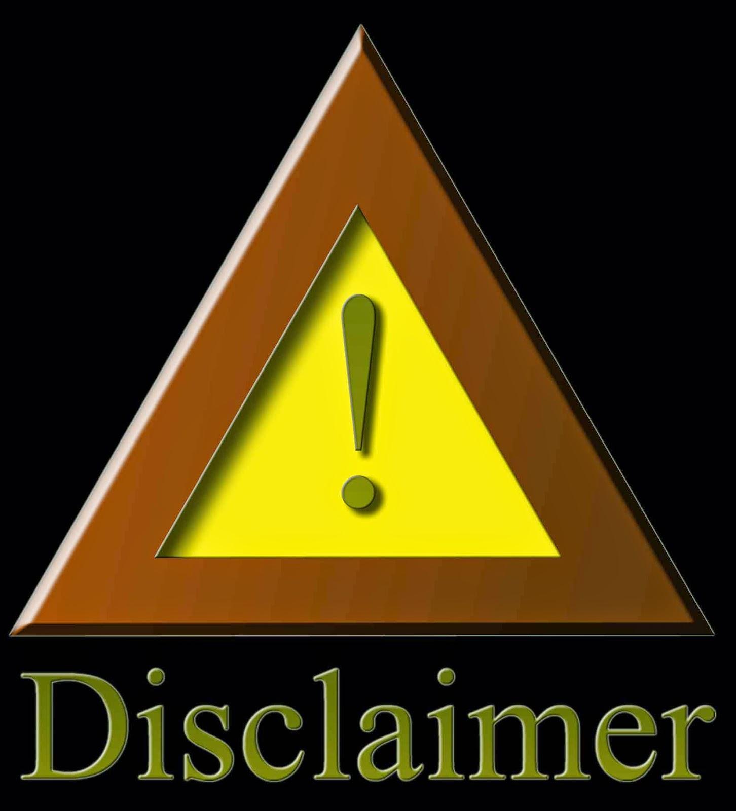 pengertian disclaimer