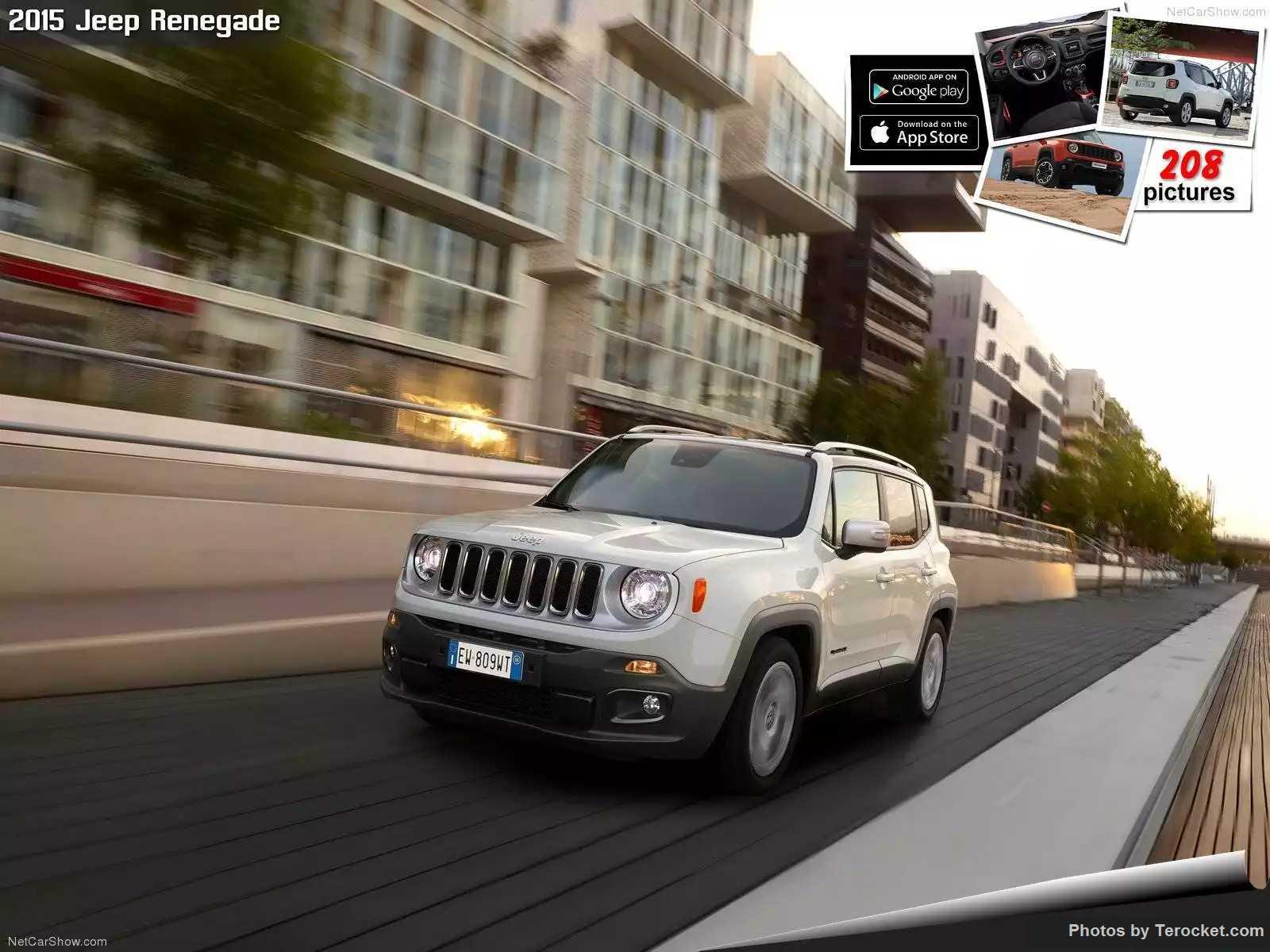 Hình ảnh xe ô tô Jeep Renegade 2015 & nội ngoại thất