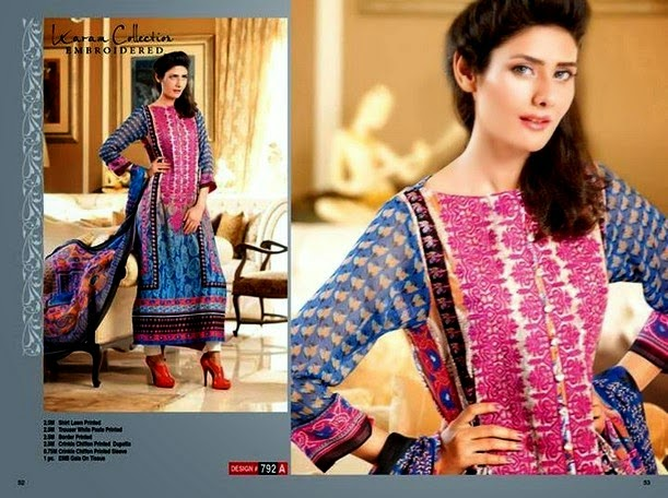 Karam Collection Premium Lawn Dresses