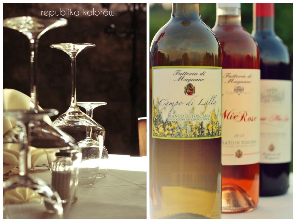 wino toskańskie