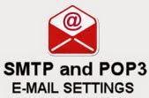 A List of SMTP and POP3 Server