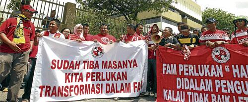 perbicaraan yang dipengerusikan oleh Datuk Taufek Abdul Razak membawa bersama dua saksi, bekas Ketua Pegawai Eksekutif Malaysia Super League (MSL), Stuart Ramalingam, Naib Presiden Persatuan Bola Sepak Kelantan (Kafa) dan juga Ahli Majlis FAM, Rosmadi Ismail dan seorang peguam yang juga bekas Pengerusi Jawatankuasa Tatatertib FAM, Kamaruddin Abdullah.