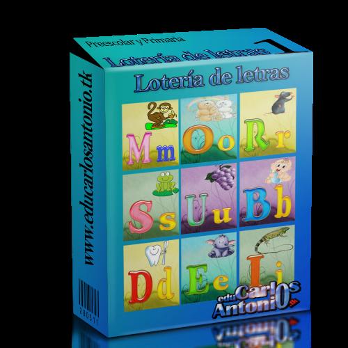 Loteria de letras para imprimir - Imagui