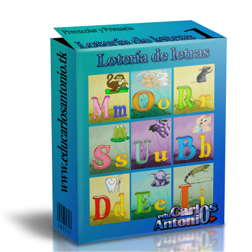 Actividades Escolares: loteria del abecedario