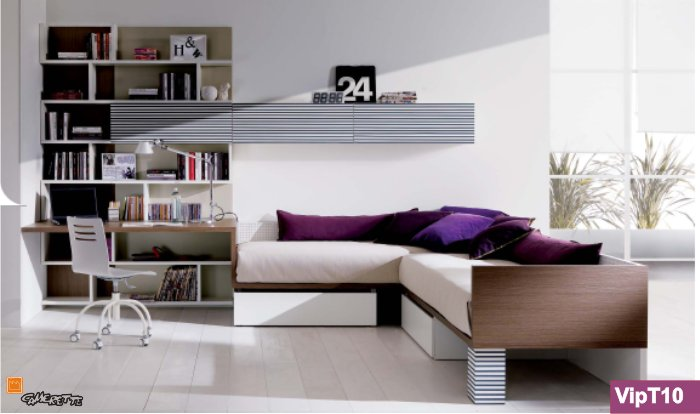 Arredamento e casa come disporre i letti arredare la for Camera da ragazzo moderna