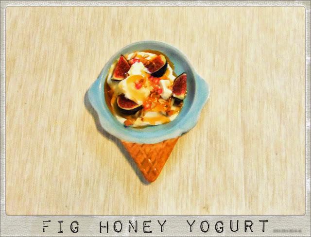 fig and honey yogurt- easy dessert recipe | you've got meal!