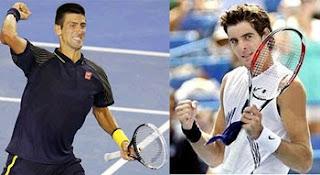 Novak Djokovic Vs Juan Martin Del Potro