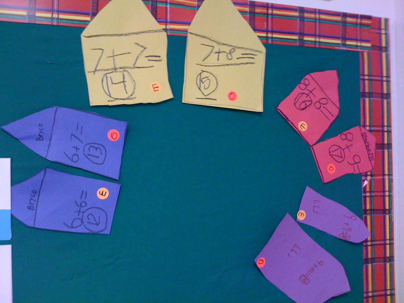Crayon Bits - a first grade blog: Doubles Land Neighborhoods
