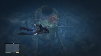 GTA V Submersible Wreckage