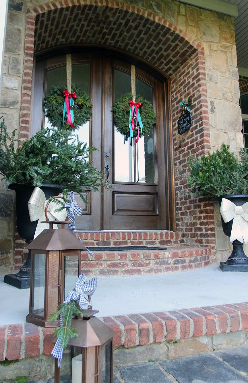 the christmas wreaths are here with bells on less than perfect