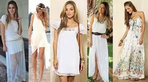 modelos de vestido longo para usar na praia 2015