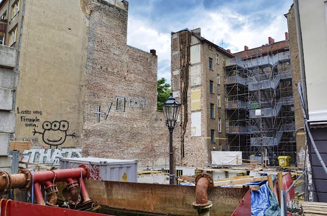 Baustelle Auguststraße 92, 10117 Berlin, 23.06.2013