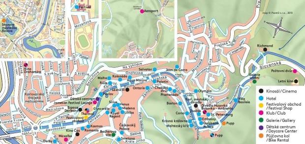 karlovy vary map tourist - photo #47