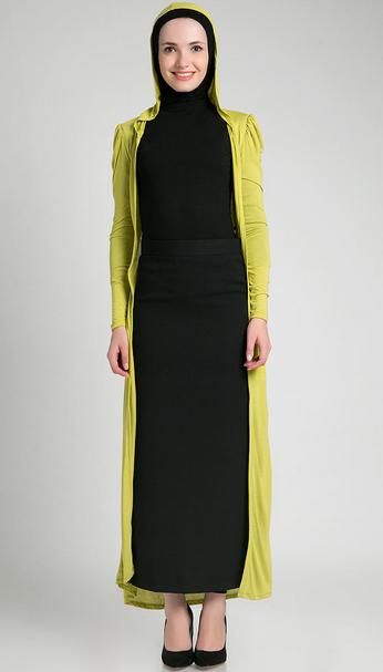 Contoh Model Baju Muslim Hijab Modern Simple Terbaru 2015