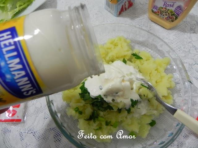 Salada fresquinha e fácil de fazer.