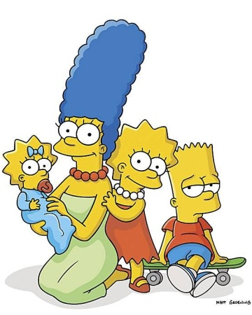 Paideia may 2012 - Marge simpson et bart ...