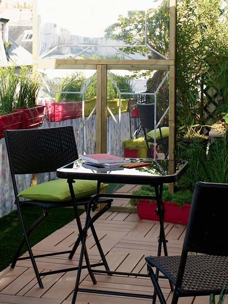 tachuelas moda y decoraci n terrazas y balcones. Black Bedroom Furniture Sets. Home Design Ideas