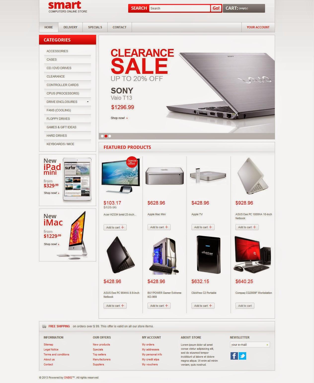thiết kế website bán hàng thiết bị văn phòng giá rẻ