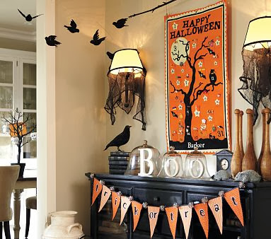 have you conjured up a few ideas - Halloween Mantle