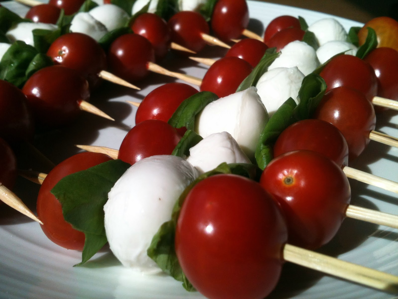 ... of Valley Writer: Tomato, Mozzarella & Basil (Caprese) Skewers