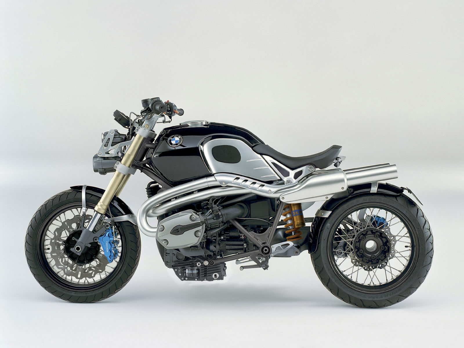 2009 BMW Lo Rider Concept motorcycle wallpaper