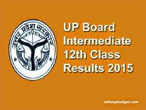 UP Board Intermediate Results 2015