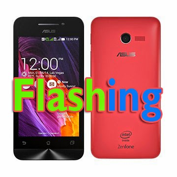 Flash Firmware Original Asus Zenfone 4 Terbaru