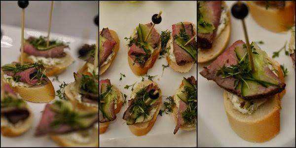 siebaecktgern 60ziger Catering Roastbeef Baguette
