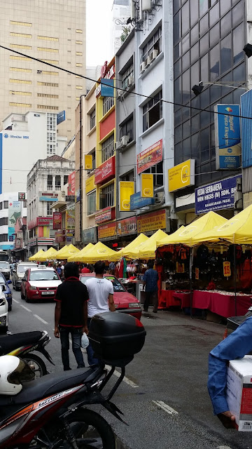 Calles de Kuala Lumpur (Malasia)